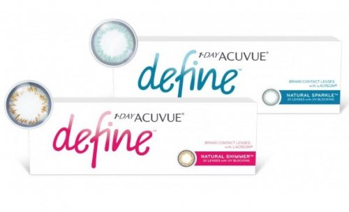 Контактные линзы 1-Day ACUVUE Define 30 шт.