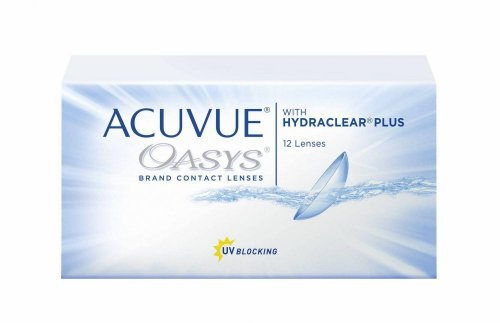 Контактные линзы Acuvue Oasys with Hydraclear Plus 12 шт.