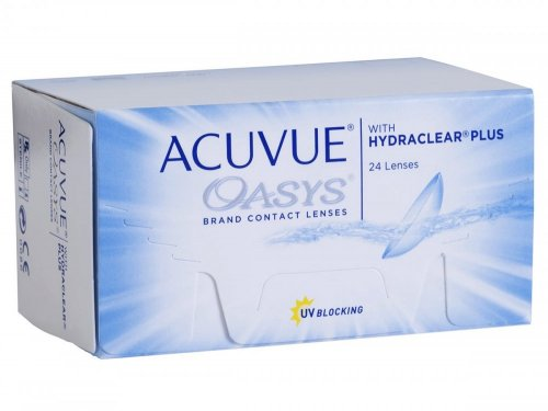 Контактные линзы Acuvue Oasys with Hydraclear Plus 24 шт.