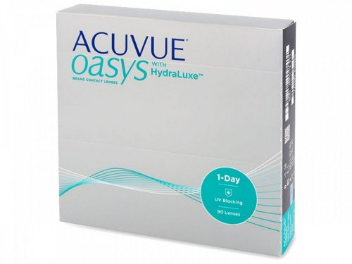 Контактные линзы Acuvue OASYS 1-Day with HydraLuxe 90 шт.