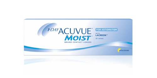 Контактные линзы 1-Day Acuvue MOIST for ASTIGMATISM 30шт.
