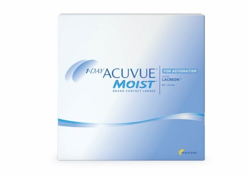 Контактные линзы 1-Day Acuvue MOIST for ASTIGMATISM 90шт.