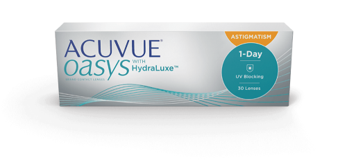 Контактные линзы ACUVUE OASYS 1-DAY FOR ASTIGMATISM (30 шт.)