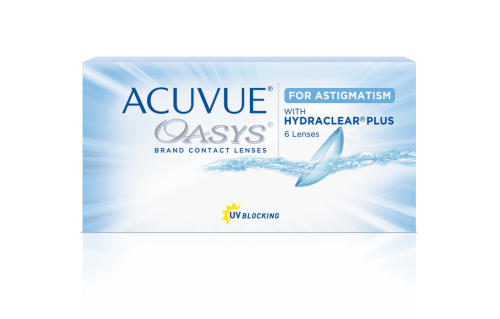 Контактные линзы Acuvue Oasys for Astigmatism with Hydraclear Plus 6 шт.