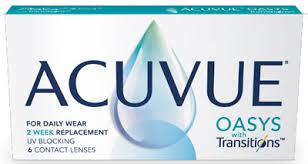 Контактные линзы ACUVUE OASYS WITH TRANSITIONS (6шт.)